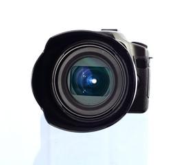 Digitalkamera mit großer Linse