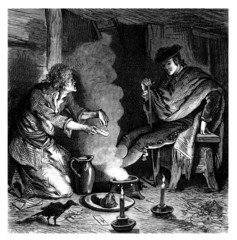 Magic Ritual : Consulting the Witch