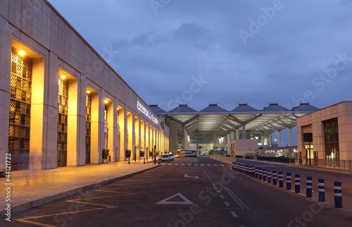 Costa del Sol airport in Malaga, Spain - 44121722