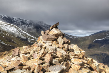 Causey Pike Cairn