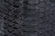 黒色の皮革素材