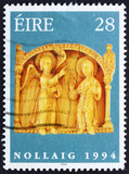 Postage stamp Ireland 1994 Annunciation, Detail, Christmas