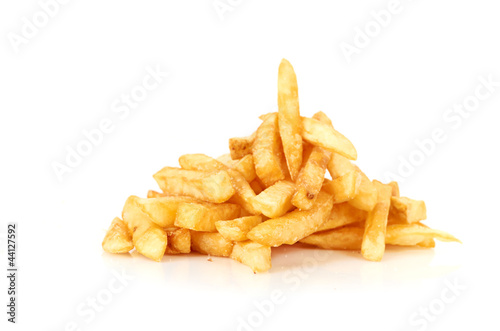 a pile of french fries - 44127592