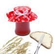 Marmelade und Butterbrot