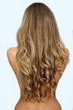 Beautiful long hair /woman - 44130351