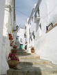 The Narrow Streets of the Andalucian Village of Frigiliana Spain