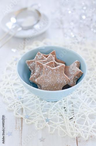 Chocolate Christmas Kekse