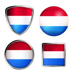 niederlande flag icon set