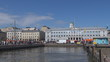 Timelapse of City Hall,Market square,Helsinki harbour,Finland