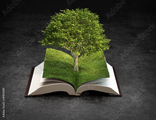 Open nature book