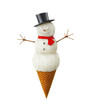 Snowman icecream