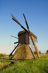 Schöne alte Windmühle