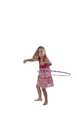 Girl with Hula Hoop