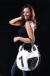 Beautiful Young Woman - With Expensive Bag