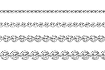 Four chains parallel to each other