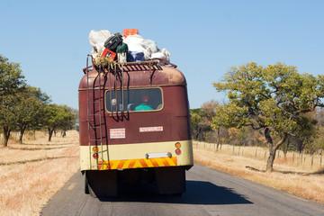 Public Transportation on African Road