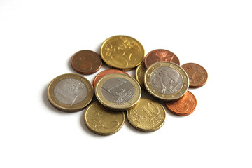 ユーロ貨幣とセント貨幣