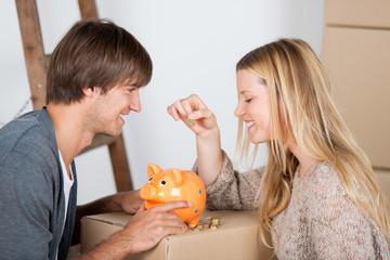 sparen für das neue haus