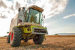 Agricultural machinery, work in the field.