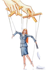 Office marionette
