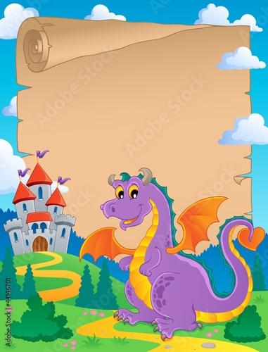 Poster Pony Fairy tale theme parchment 1