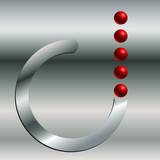 Logo output poster
