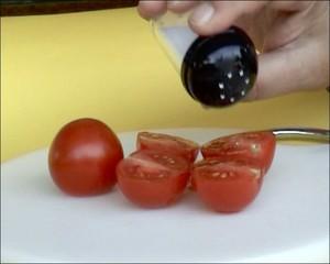 Tomaten salzen