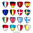 icon set europa flag shields 1