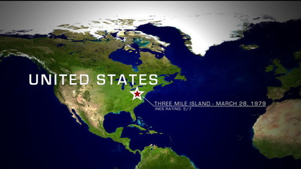 Three Mile Island, United States Nuclear Disaster 1979 animation