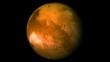 Mars planet.