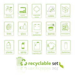 Recycladle set
