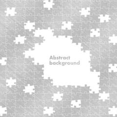 puzzle aluminium background