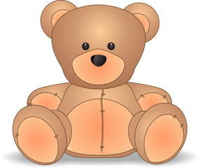 teddy bear (baby theme)