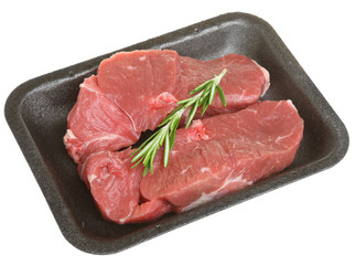 Packaged Boneless Lamb Leg Steaks