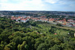 Prague panorama with Strahov Monastery