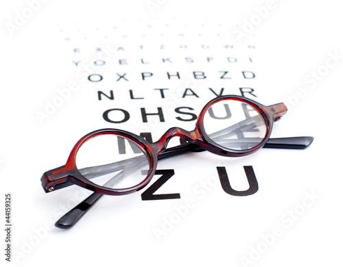 lunettes opticien photo libre de droits sur la banque d 39 images image 44159325. Black Bedroom Furniture Sets. Home Design Ideas