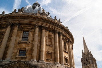 Radcliffe camera and St Mary's church