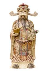 Prosperity Money God Ivory Carving