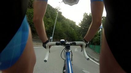Sport - ciclismo - in corsa