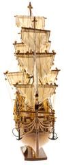 """maquette du """"Bounty"""", trois-mâts de 1787"""