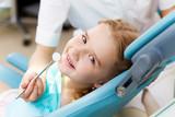 Little girl visiting dentist - 44163176