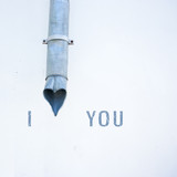 I love you conceptual photo