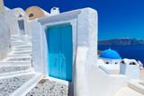 Architecture of Greek village of Santorini