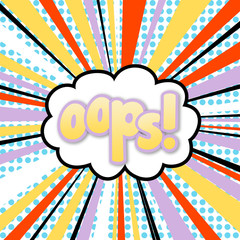 Oops! - background