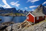 Fototapeta łowienie - fiord - Wybrzeże