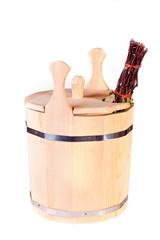 Bucket for sauna