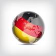 Deutschland Globus