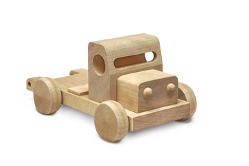 Spielzeugauto aus Holz