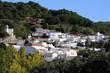 View of pueblo blanco, Juzcar, Spain © Arena Photo UK
