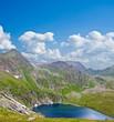 caucasus mountain valley landscape